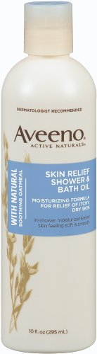 6. Aveeno 10OZ SHOWER/BATH OIL