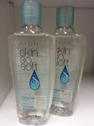 1. Lot of 2 Avon Skin So Soft SSS Original Bath