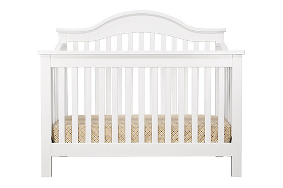 DaVinci Jayden 4 in 1 Crib with Toddler Rail, Ebony