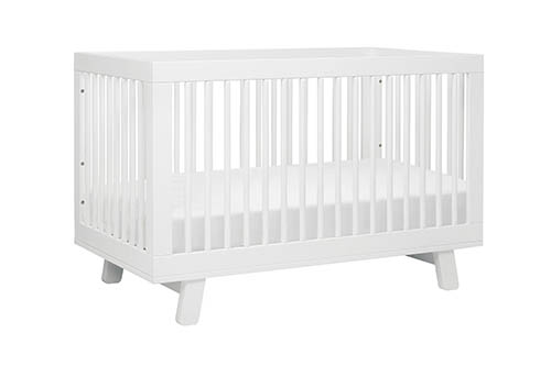 9. Babyletto Hudson 3-in-1 Convertible Crib with Toddler Rail