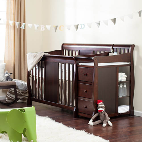 10. Storkcraft Calabria Crib N Changer