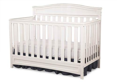 6. Delta Children Emery 4-in-1 Crib