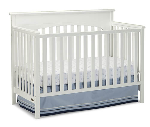 7.Graco Lauren Convertible Crib