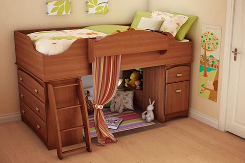 8. South Shore Loft Bed Imagine Collection