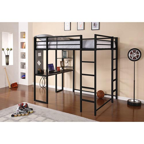 4. Dorel Abode Full Size Loft Bed