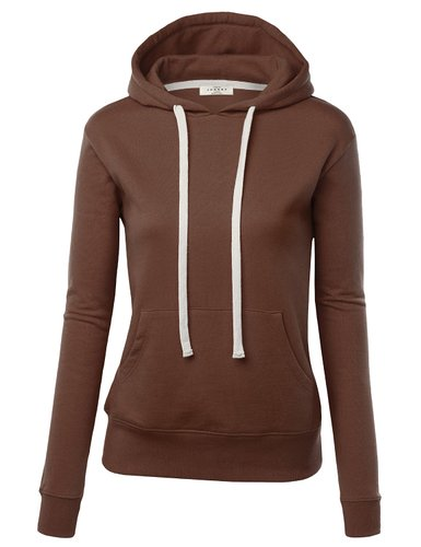 4. Zip Up Fleece Hoodie Sweater