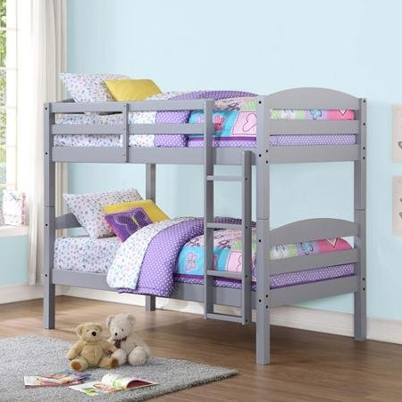 4. Mainstays Hot Twin Wood Bunk Bed