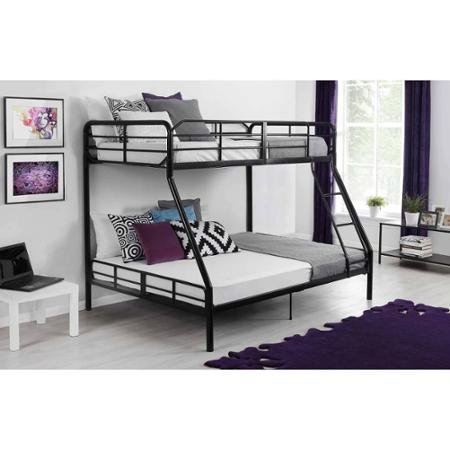 5. Mainstays Twin Over Full Bunk Bed