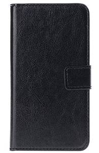 Perfect Wallet Stand Credit Card Holder Flip Folio PU Leather Case Cover For LG G4 Black