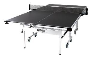 JTL 150 Table Tennis Table with Corner Ball Holders and Magnetic Scorer