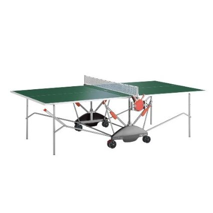 Kettler Match 5.0 Weatherproof Outdoor Table Tennis Table- Green