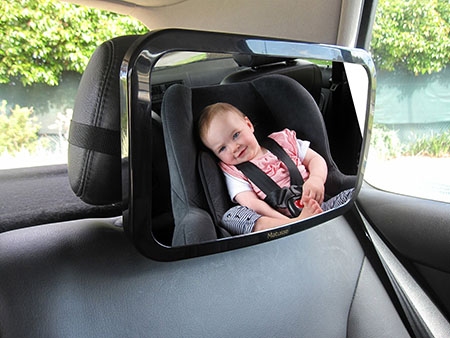 Baby Back Seat Car Mirror designed for Rear Facing Infant Car Seat