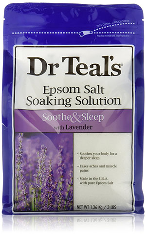 2. Dr Teals Lavender Epsom Salt - Soothe and Sleep