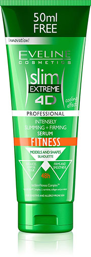 3. SLIM EXTREME 4D SLIMMING AND FIRMING SERUM ANTI-CELLULITE FITNESS
