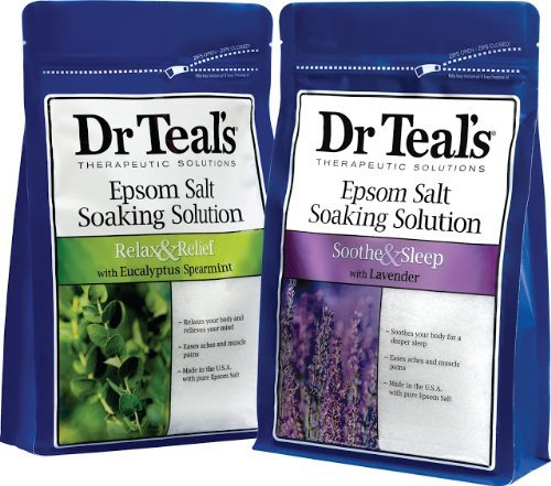 4. Dr. Teals Epsom Salt Soaking Solution Bundle