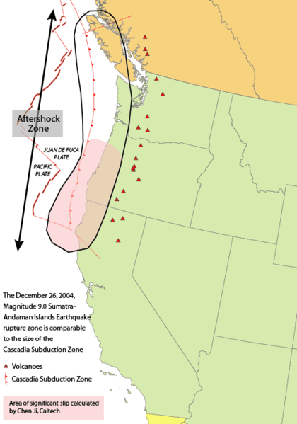 1700 Cascadia earthquake