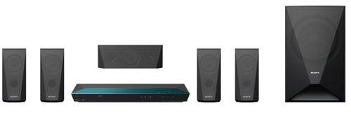 Sony BDV-E3100 5.1 Channel 3D Blu-ray Disc Home Theater System