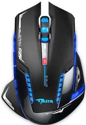 E-BLUE EMS601BKAA-NF Mazer II 2500 DPI Wireless Gaming Mouse