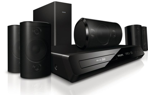 Philips HTS3564/F7 3D Blu-Ray 5.1 Home Theatre System