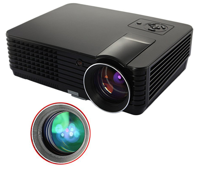 RD-803 New Multifunction Hd Home Theater Projector