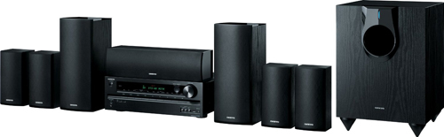 Onkyo HT-S5600 7.1-Channel Home Theater Receiver/Speaker Package