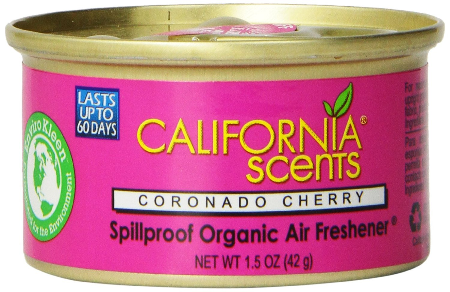 California Scents Spillproof Organic