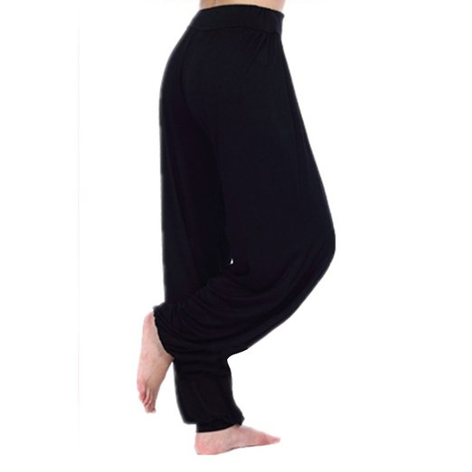 GOGO TEAM Womens Yoga Herem Pants Dance Workout Pants