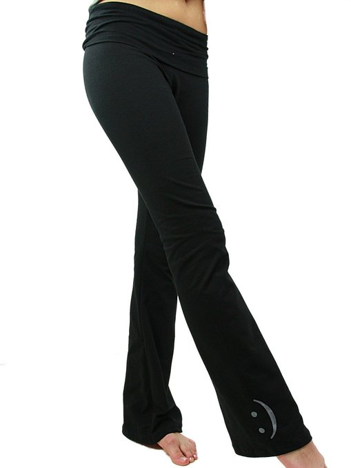 YogaColors Crystal Cotton Spandex Jersey Yoga Pants