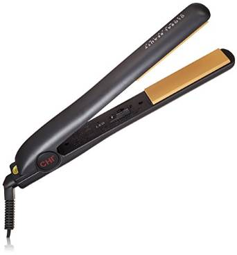 CHI Ceramic Hairstyling 1-Inch Iron, Black