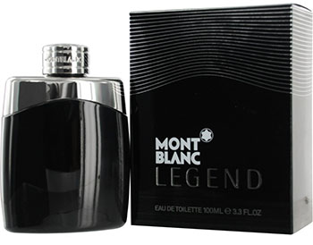 Mont Blanc Legend Eau de Toilette Spray for Men, 3.3 Ounce