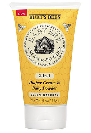Burt's Bees Baby Bee Cream To Powder, 4 Ounces