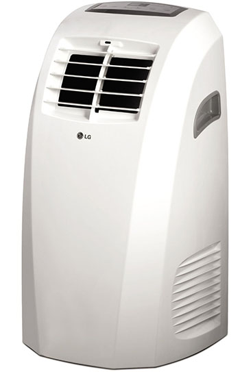LG Electronics Portable Air Conditioner with Remote Control