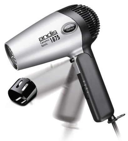 9. Andis RC-2 Ionic1875W Ceramic Hair Dryer