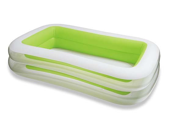 2. Intex Swim Center Family Inflatable Pool, 103