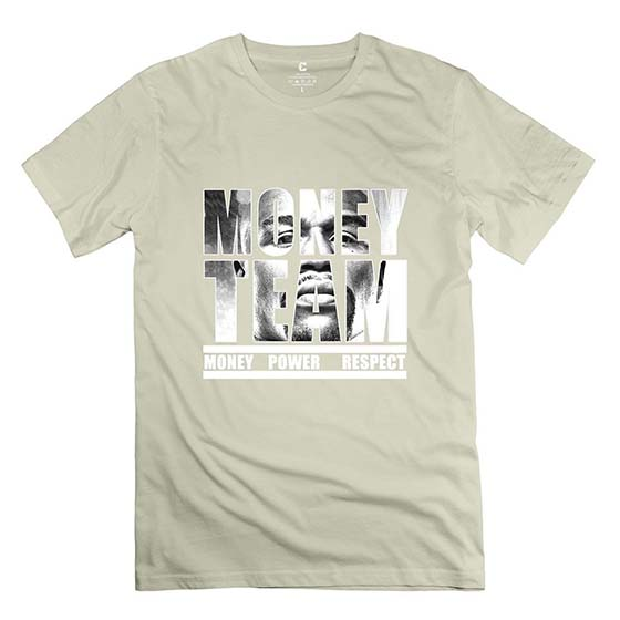 2. Men's Pre-cotton The Money Team Floyd Mayweather The Best Ever Boxing T-shirt