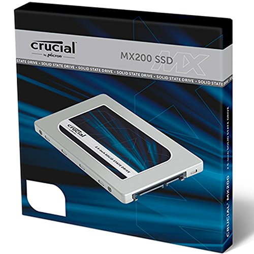 3. Crucial MX200 250GB SATA 2.5 Inch Internal Solid State Drive
