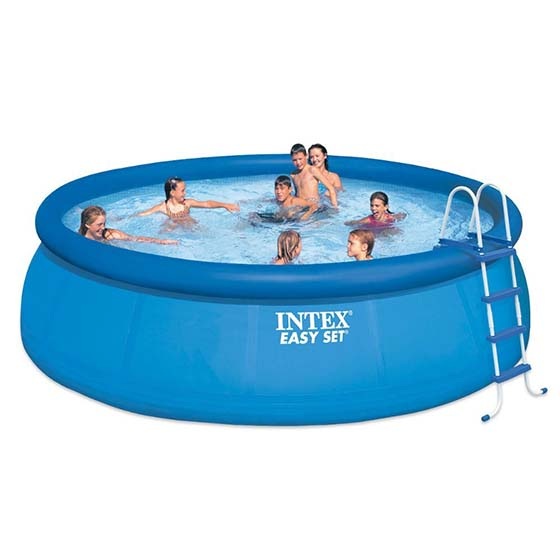 5. Intex 15ft X 48in Easy Set Pool Set