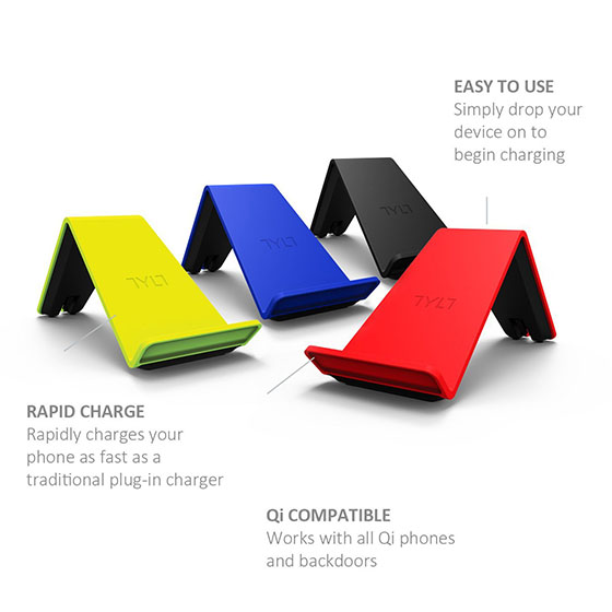 6. TYLT Vu Wireless Charger for all Qi Phones