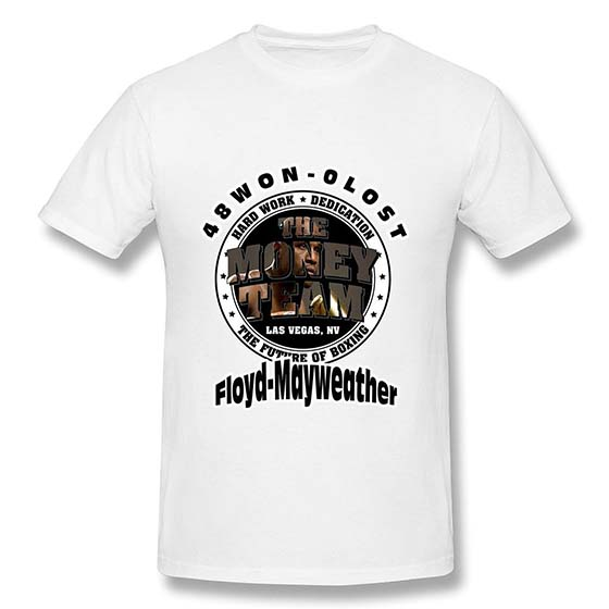1. RILI Men's Pretty Boy Floyd Mayweather The Best Ever T-shirt