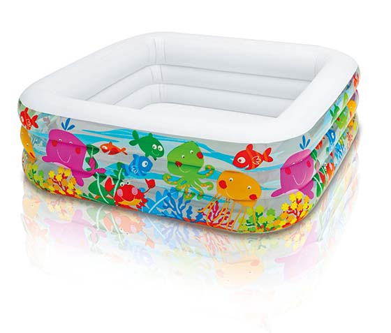 3. Intex Swim Center Clearview Aquarium Inflatable Pool, 62