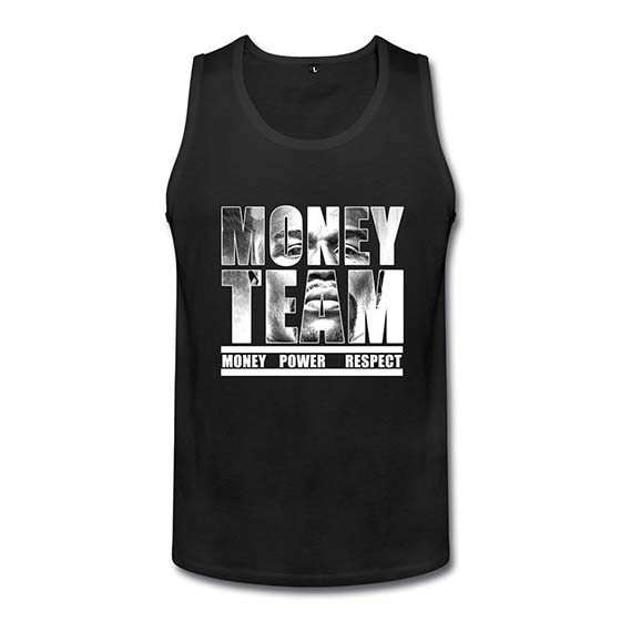 8. Albert T-Tank Men The Money Team Floyd Mayweather The Best Ever Boxing Tops