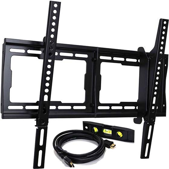 5. VideoSecu Tilt TV Wall Mount Bracket 23-Inch to 65-Inch