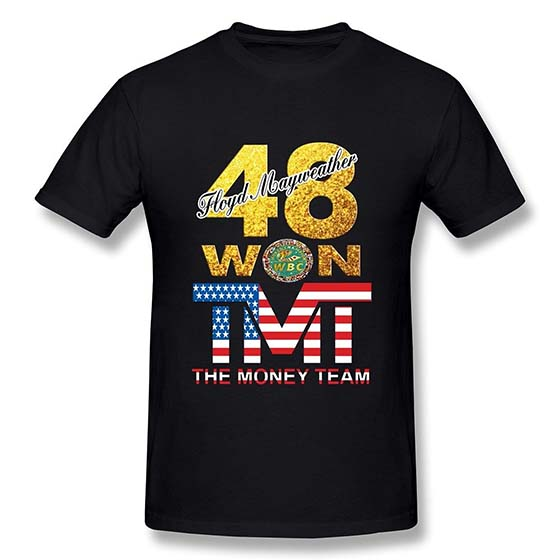 7. YIRONG Men's Pretty Boy Floyd Mayweather The Best Ever T-shirt