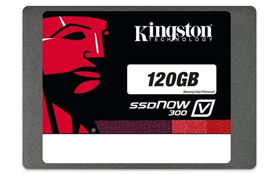 2. Kingston Digital 120GB SSDNow V300 SATA 3 2.5