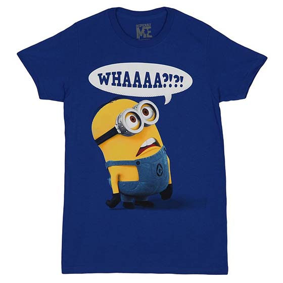 2. Despicable Me Whaaaa? Mens T-shirt