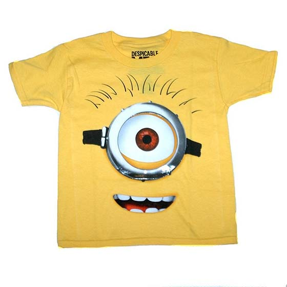 "8. Despicable Me 2 – Stewart ""Eye See You"" Tee"