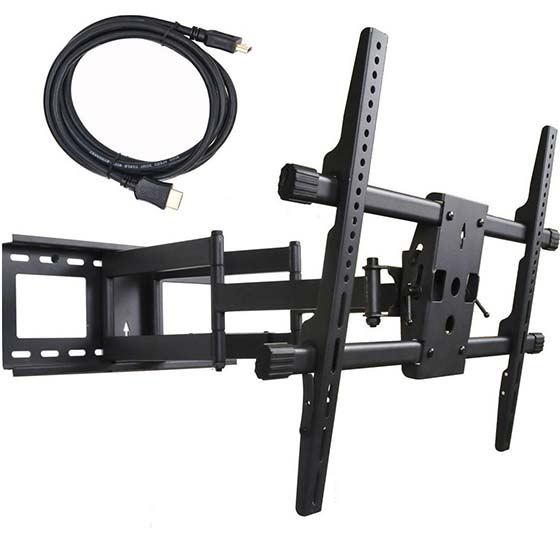 8. VideoSecu Articulating Full Motion TV Wall Mount for 32