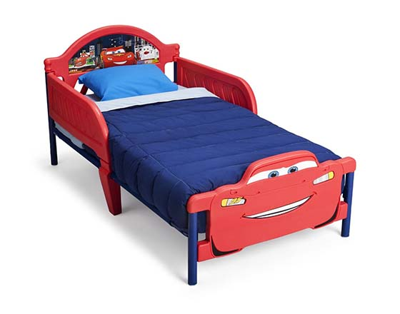 delta enterprise cars 3d footboard toddler bed