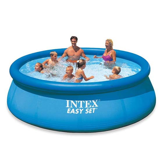 7. Intex 12ft X 30in Easy Set Pool Set