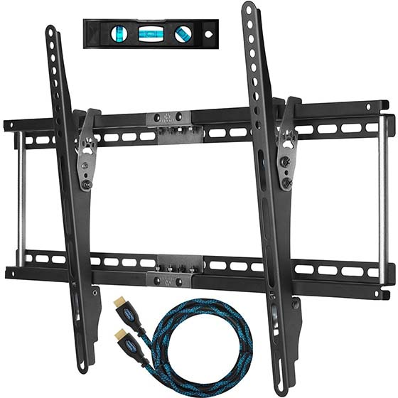 2. Cheetah Mounts APTMM2B Tilt TV Wall Mount Bracket for 32-65